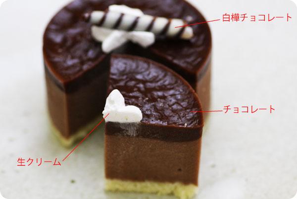 白樺ケーキチョコレート
